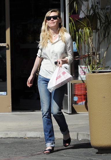 Kirsten Dunst was out in LA.