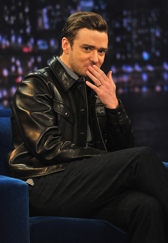 Justin Timberlake made a stop on Late Night With Jimmy Fallon.