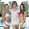 Candice, Karlie and Alessandra in Victoria's Secret Bikinis