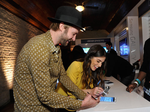 Nikki Reed and husband Paul McDonald attended the Snap cast dinner at SXSW.