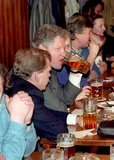 Clinton visited Prague's Golden Tiger pub during a 1994 visit.
