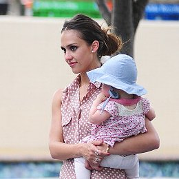 Jessica Alba Talks Motherhood on Good Morning America