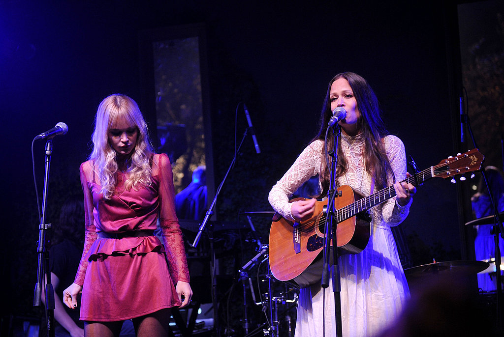 Catherine and Allison Pierce of The Pierces