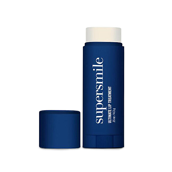 Teeth-whitening brand Supersmile has broken into the lip care arena with its version of a lip treatment ($24). The balm has a silky finish and low shine, which makes it a pocketbook staple.