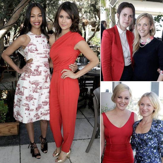 Zoe, Nina, Reese, and More Step Out in Hollywood to Support Their Stylists