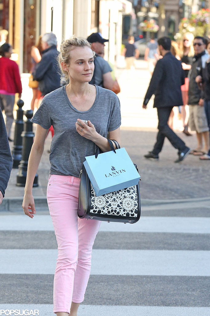 Diane Kruger Preps For Her Host Premiere With a Shopping Day in LA