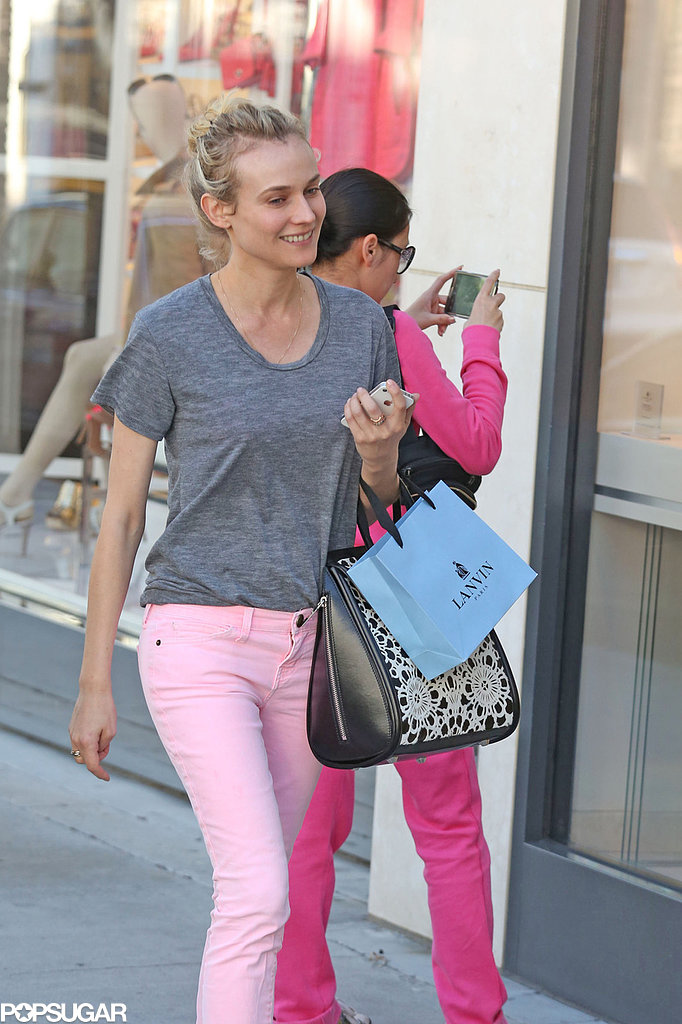Diane Kruger shopped in LA.