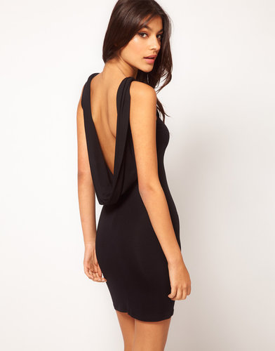 ASOS Sexy Cowl Back Dress