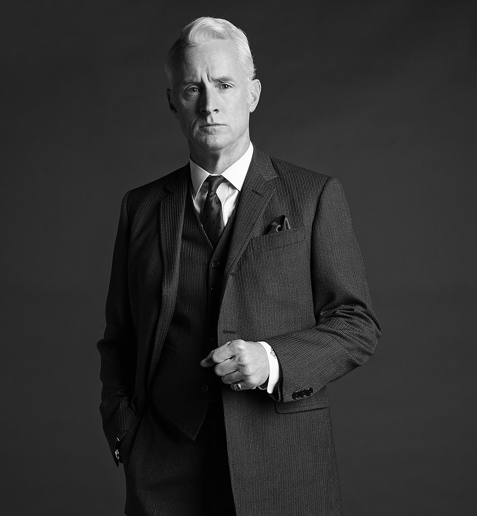 John Slattery on Mad Men.