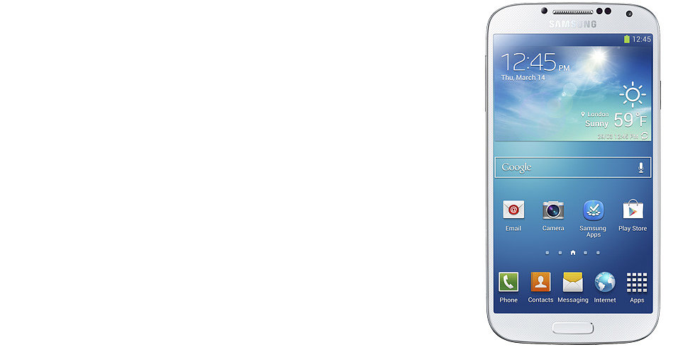 The Futuristic Samsung Galaxy S4