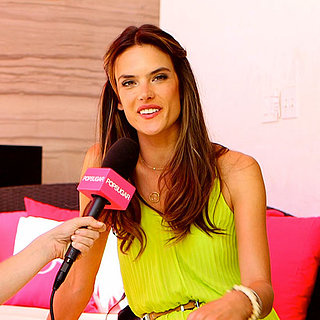 Alessandra Ambrosio Interview For Victoria's Secret | Video