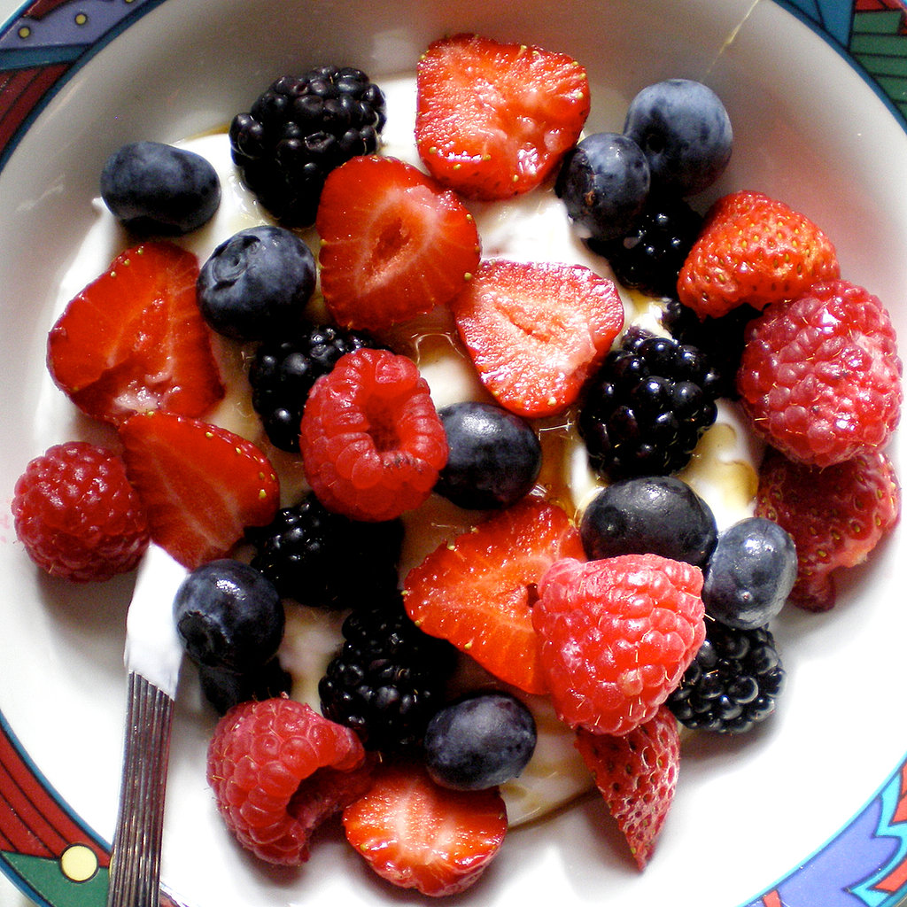 Greek Yogurt With Fruit