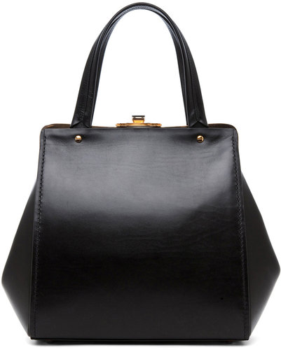 Lanvin Doctor Bag in Black