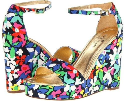Kate Spade New York - Dabney (Multi Margarita Floral Print Fabric) - Footwear