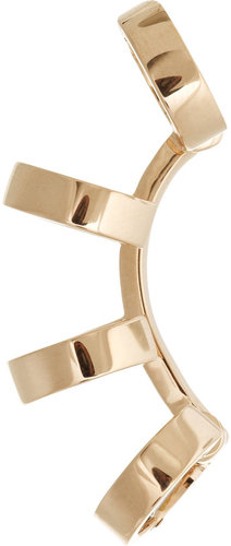 Repossi Berbère 18-karat rose gold multi-hoop ear cuff