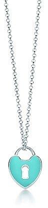 Tiffany Locks heart lock pendant