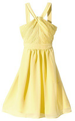 Women's Halter Neck Chiffon Dress - Fashion Colors
