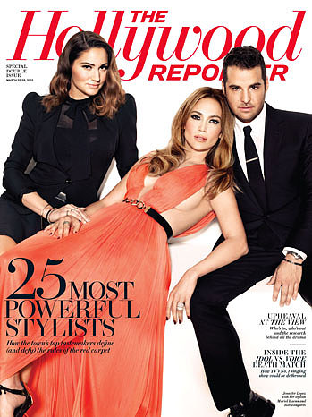 Mariel Haenn, Jennifer Lopez and Rob Zangardi