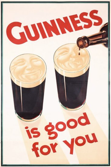 Even those beer faces seem to agree with the famous tagline.