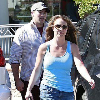 Britney Spears's With New Boyfriend 2013 | Video