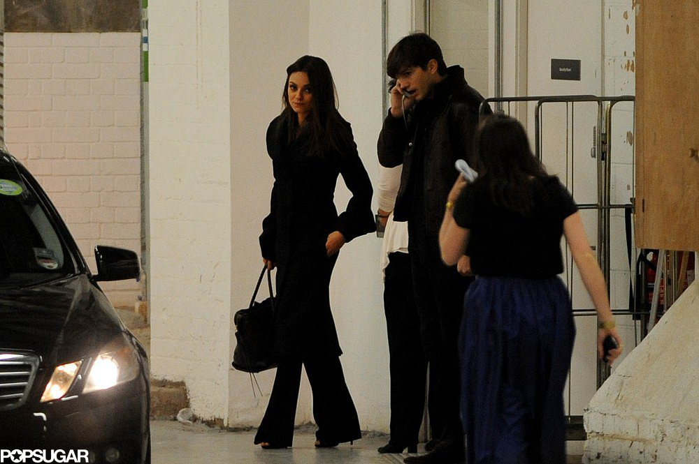 Mila Kunis and Ashton Kutcher had a date night in London.