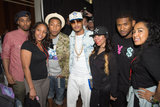 Pharrell Williams, T.I., and Usher joined friends at the BET Music Matters showcase.