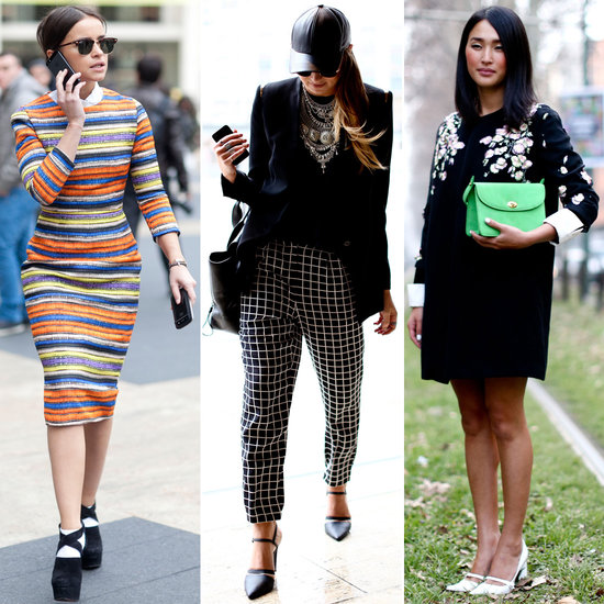 street style trends at fashion week fall 2013