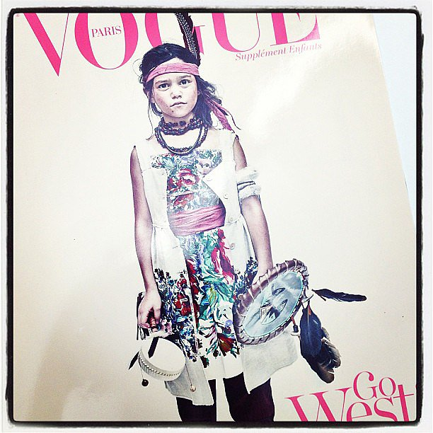 "The ""Enfants"" issue from Vogue Paris is totally chic (and cute)!"