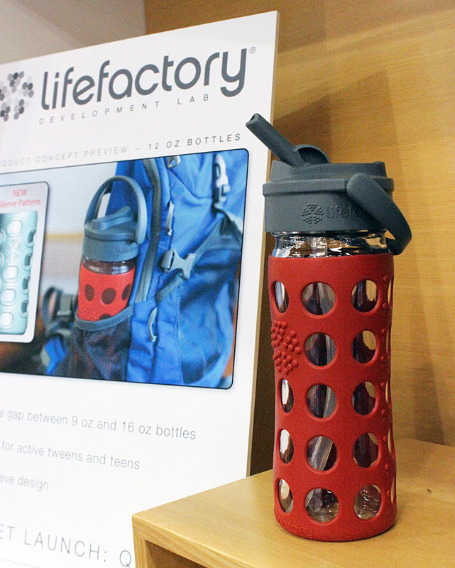 Lifefactory Straw Bottle