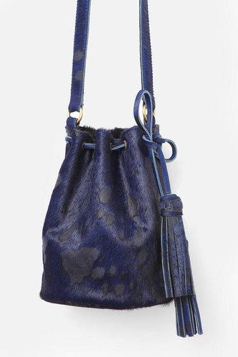 MK Totem Pony Hair Bucket Bag