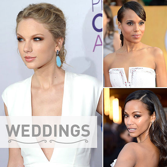 Bumper Bridal Beauty: 35 Celebrities to Inspire Your Wedding Day Smoky Eye