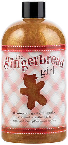 PHILOSOPHY the gingerbread girl shampoo, shower gel &amp; bubble bath