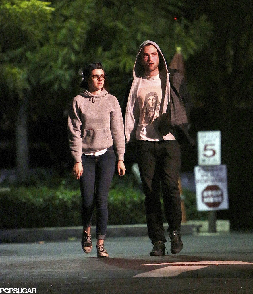 Robert Pattinson and Kristen Stewart's Friday Date Night!