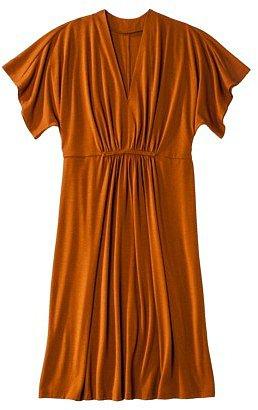 Merona® Womens Plus-Size Short-Sleeve V-Neck Dress - Assorted Colors