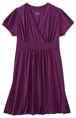 Merona® Women's Plus-Size Short-Sleeve V-Neck Dress - Assorted Colors
