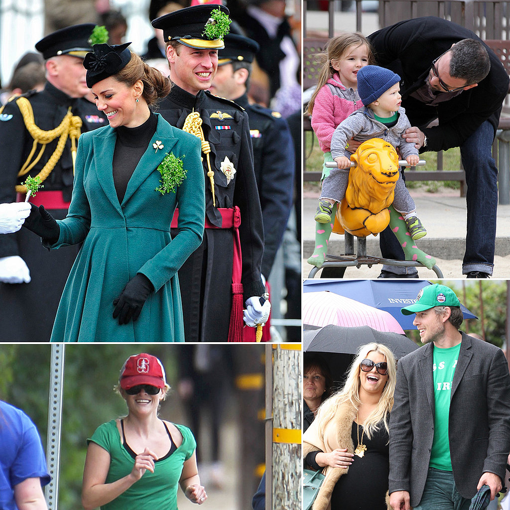 Stars Get in the St. Patrick's Day Spirit!