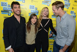 Zal Batmanglij, Ellen Page, Brit Marling, and Alexander Skarsgard had a laugh at their SXSW premiere of The East.