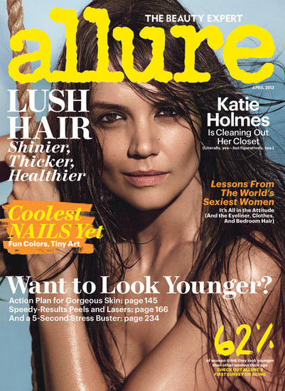 Katie Holmes Shows Skin and Talks Expanding Her Family