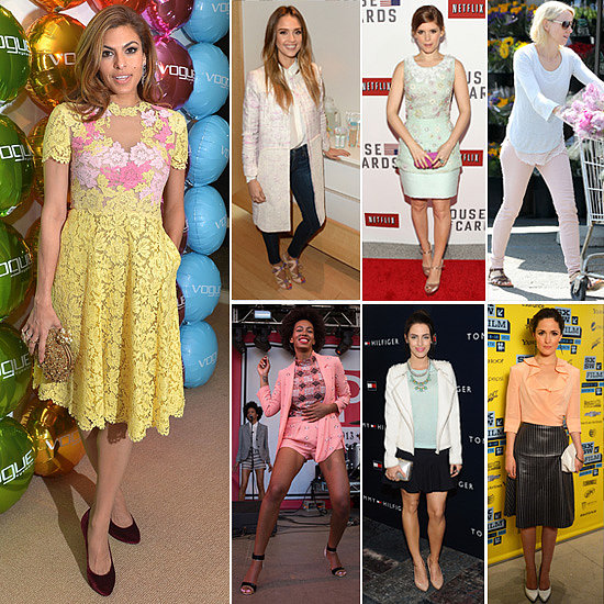 7 Days, 7 Ways: Celebs Provide Easter Dressing Inspiration in Pastels