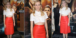 See Diane Kruger Look Red Hot — and Show Off Midriff