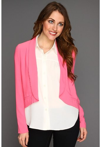 BB Dakota - Arlene Blazer (Hot Pink) - Apparel