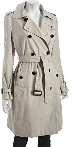 Burberry Prorsum trench cotton blend 'Kensington' trench coat