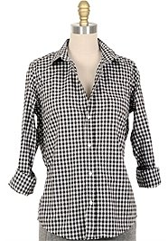 FRANK & EILEEN Barry Gingham Button Down Shirt