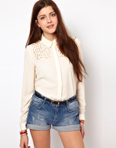 Vero Moda Lazer Cut Shirt