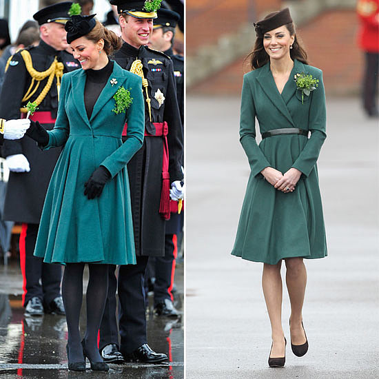Now and Then: Kate Middleton Reworks Her St Patrick's Day Favourite