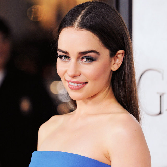 Pictures of Emilia Clarke at the Game of Thrones Premiere