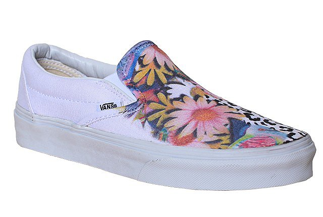 Vans Slip-On Eye Spy ($125)