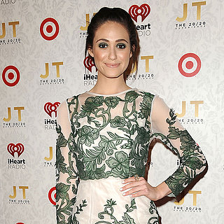 Emmy Rossum at Justin Timberlake Album Release Party
