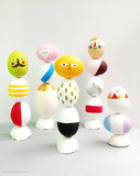 Easter Egg Scuptures