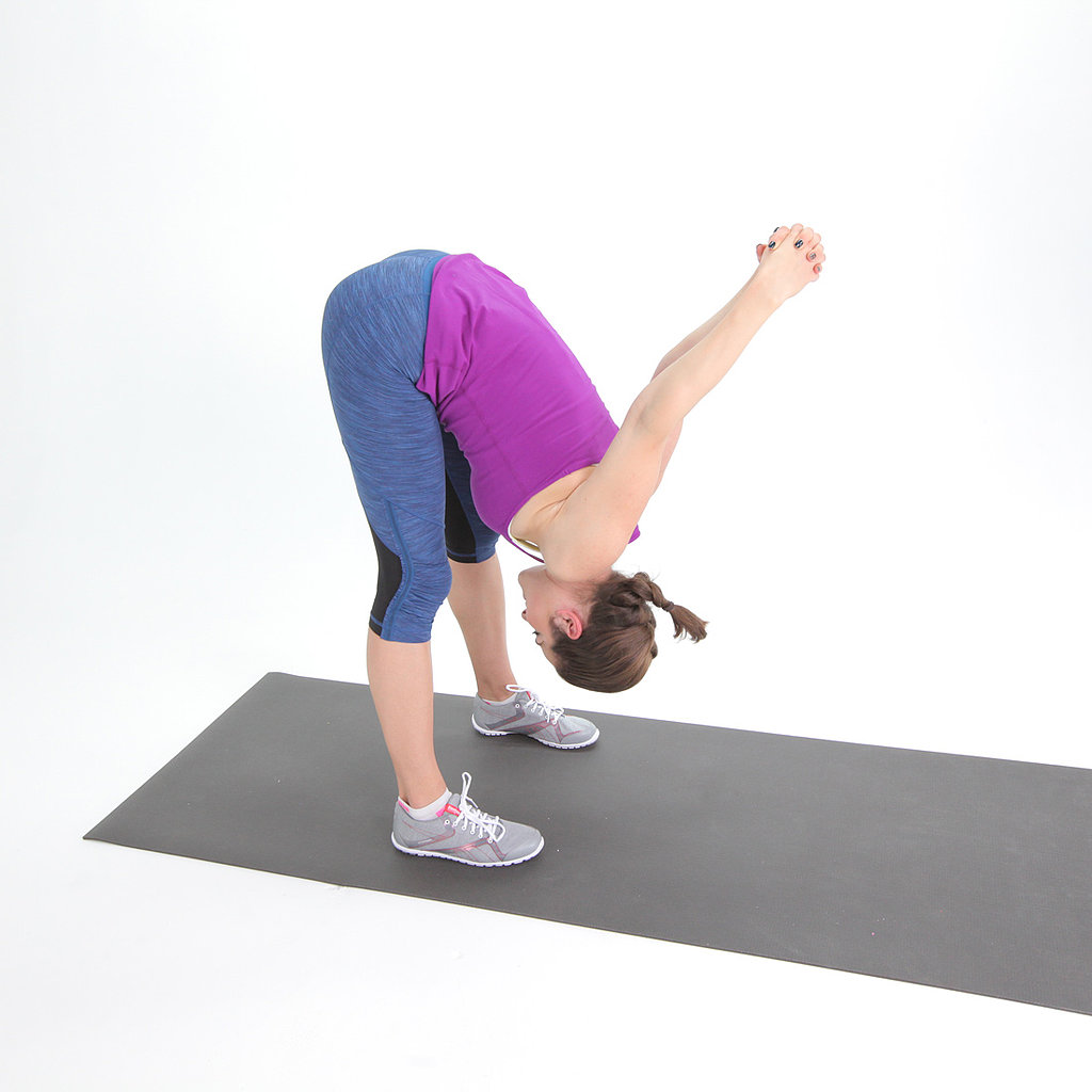 Tip-Over Tuck Hamstring Stretch